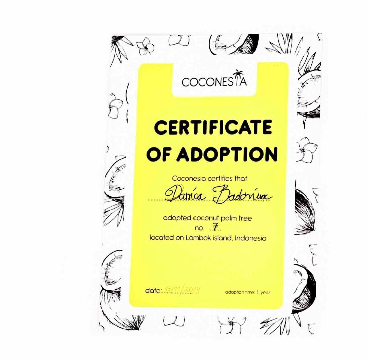 Adoption packet no. 1