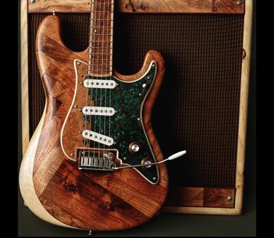 Meek Guitars Herringbone Strat