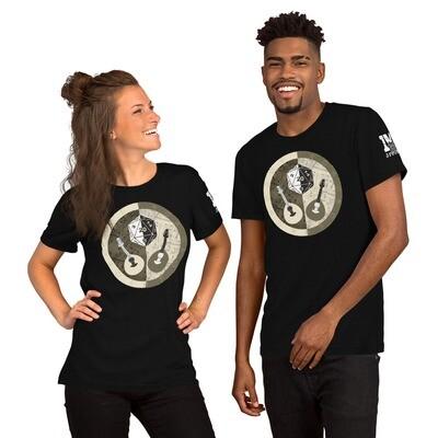 Bard Shield Color Short-Sleeve Unisex T-Shirt