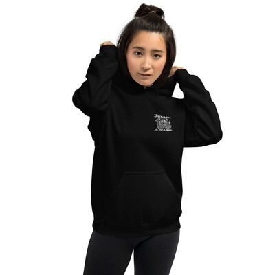 Merch.Beast.Apparel B&W Fan Gear Unisex Hoodie