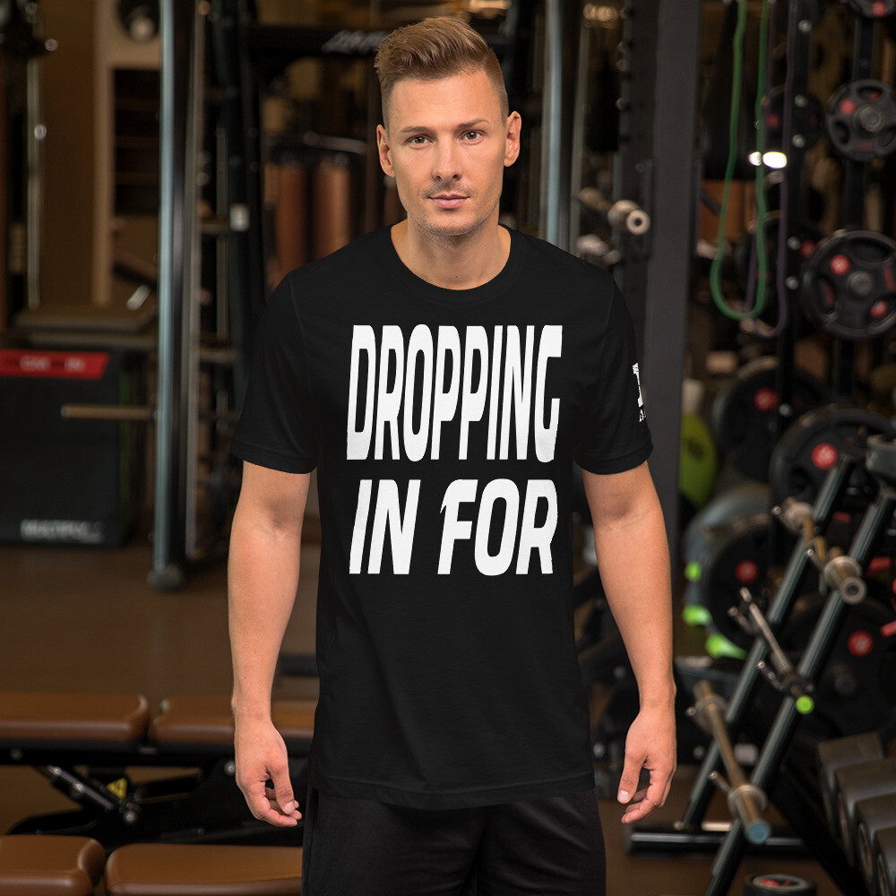 New Years Dropping in Short-Sleeve Unisex T-Shirt
