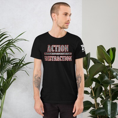 Action over Distraction Skydiving Short-Sleeve Unisex T-Shirt