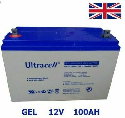 BATTERIA   ULTRACELL  GEL   100  AH  UCG 100- 12