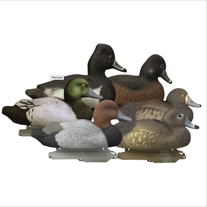 Нырковые утки с пеной HIGDON
