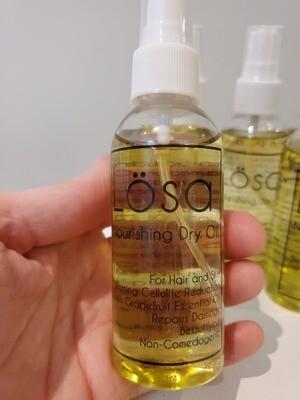 Lösa Dry Oil