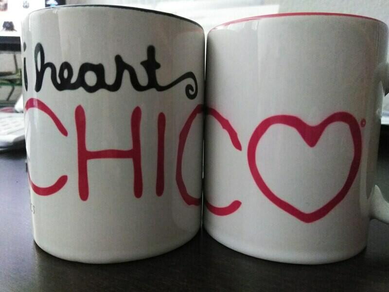 I heart CHICO© Mug