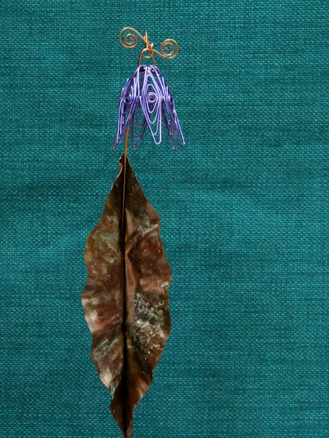 Lilac Simple Flower Stake