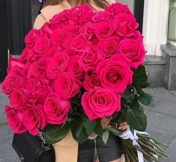 51 роза (Эквадор) Пинк флоид