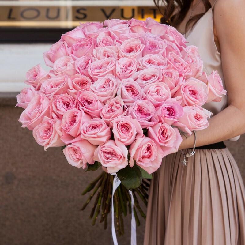 51 пионовидная роза (Эквадор) Пин Охара