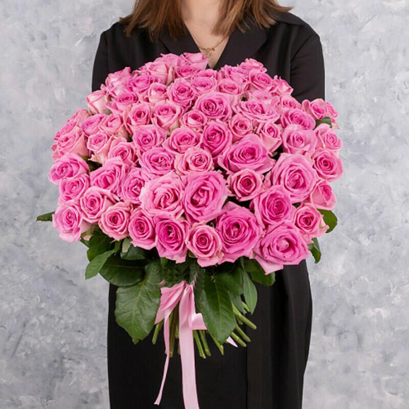 51 розовая роза (Россия) Аква