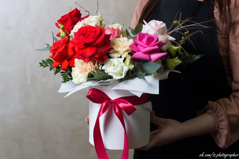 Необыкновенная цветочная коробочка