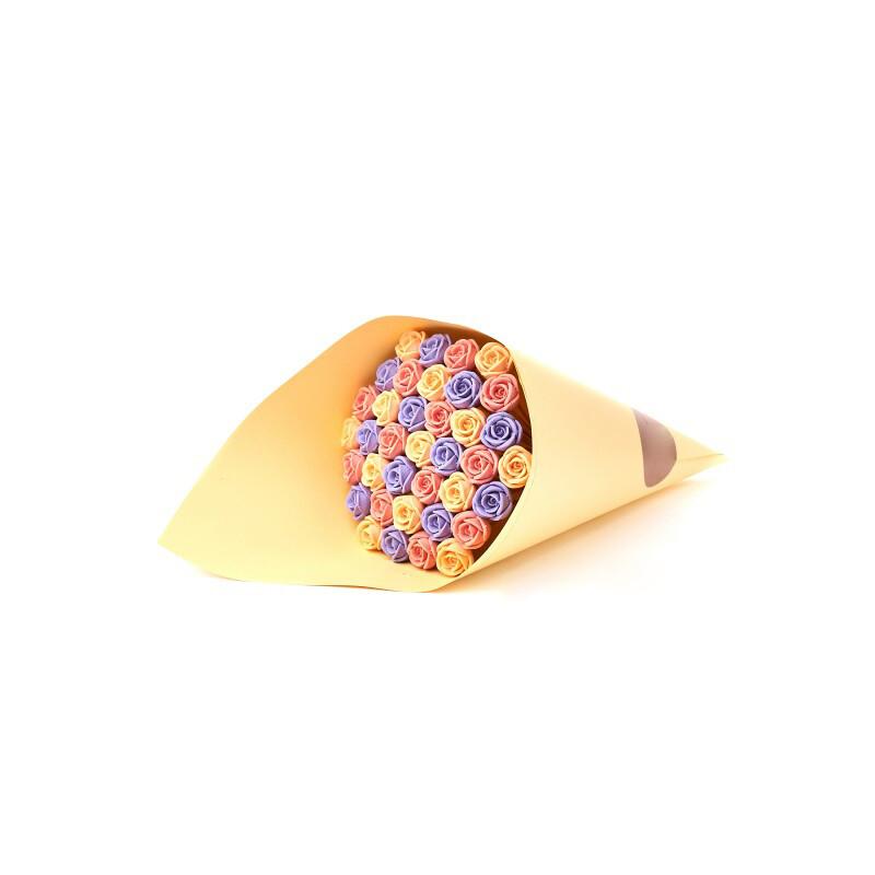 Букет оранжевый 37 роз