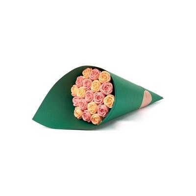 Букет зеленый 19 роз