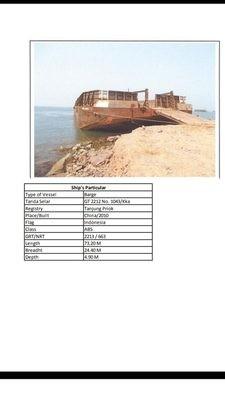 4 set tuggboat dan barge