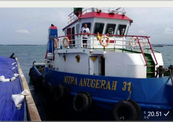 Jual kapal tuggboat 300 feet 2013