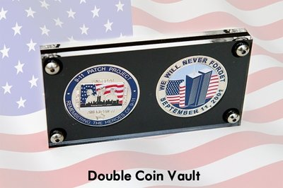 Double Opening Acrylic Coin Vault