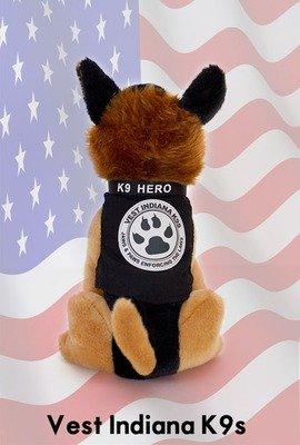Vest Indiana K9s Plush K9 Hero- JAX