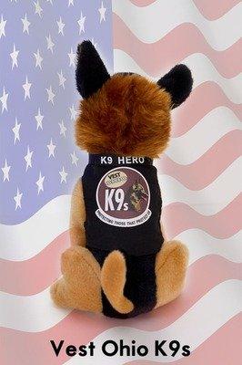 Vest Ohio K9s Plush K9 Hero- SONNY