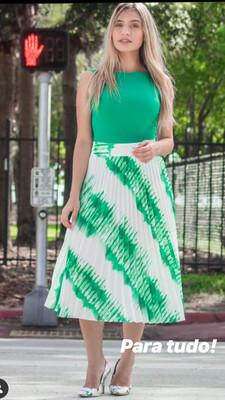 Skirt Plissada