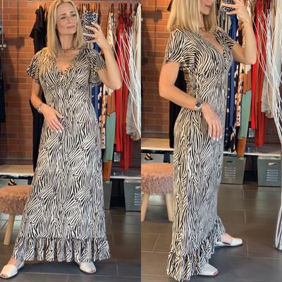 Animal Print Cotton Dress