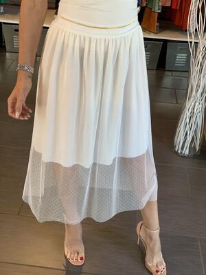 White Tule Skirt