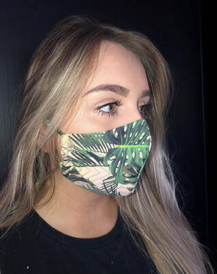 Unisex Fabric Face Masks (free shipping when you buy 3 or more)