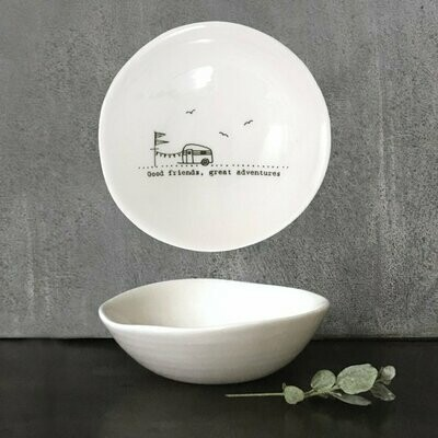 You/'re A Star East Of India Wobbly Porcelain Dish