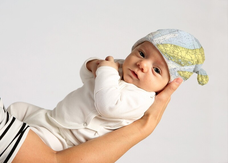Custom Cape May Baby Beanie