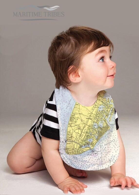 Custom Cape May Baby Bib