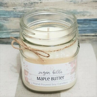 Soy Candle 8 oz. - Maple Butter