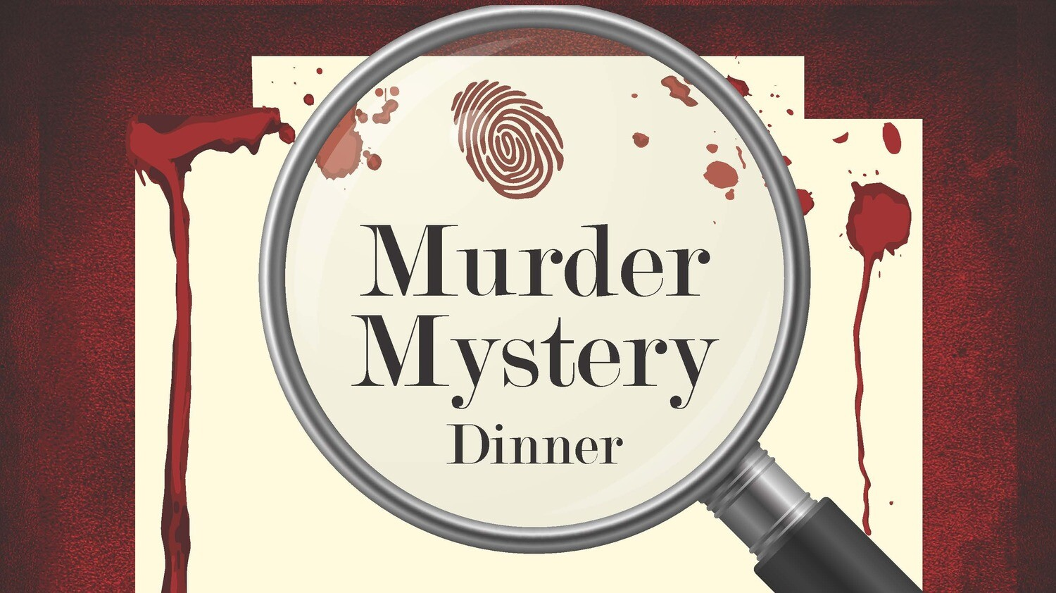 Murder Mystery Couples Dinner Ticket 3/7/20
