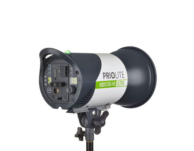 Priolite MBX 500 Hot Sync ULTRA High Speed Akku-Blitz