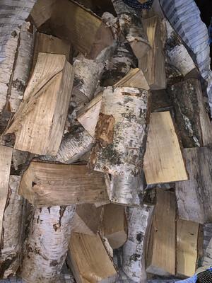 Kiln Dried Hardwood Logs In Bulk Bag