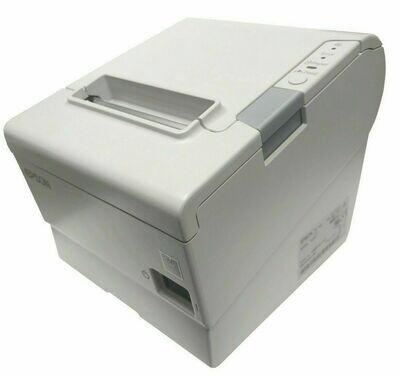 Epson TM-T88V POS Thermal Receipt Printer M244A Serial (RS-232) White USB (Refurb Grade A)