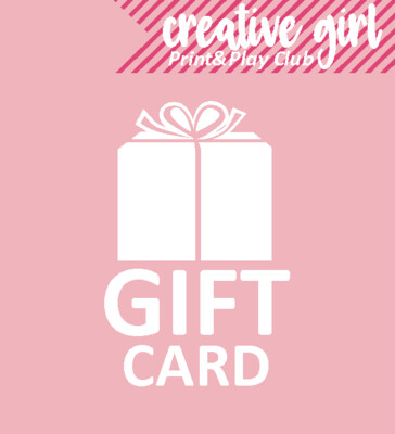 #Creativegirl Gift card