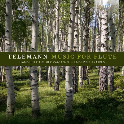 CD TELEMANN Music For Flute, Hanspeter Oggier und das Ensemble Fratres