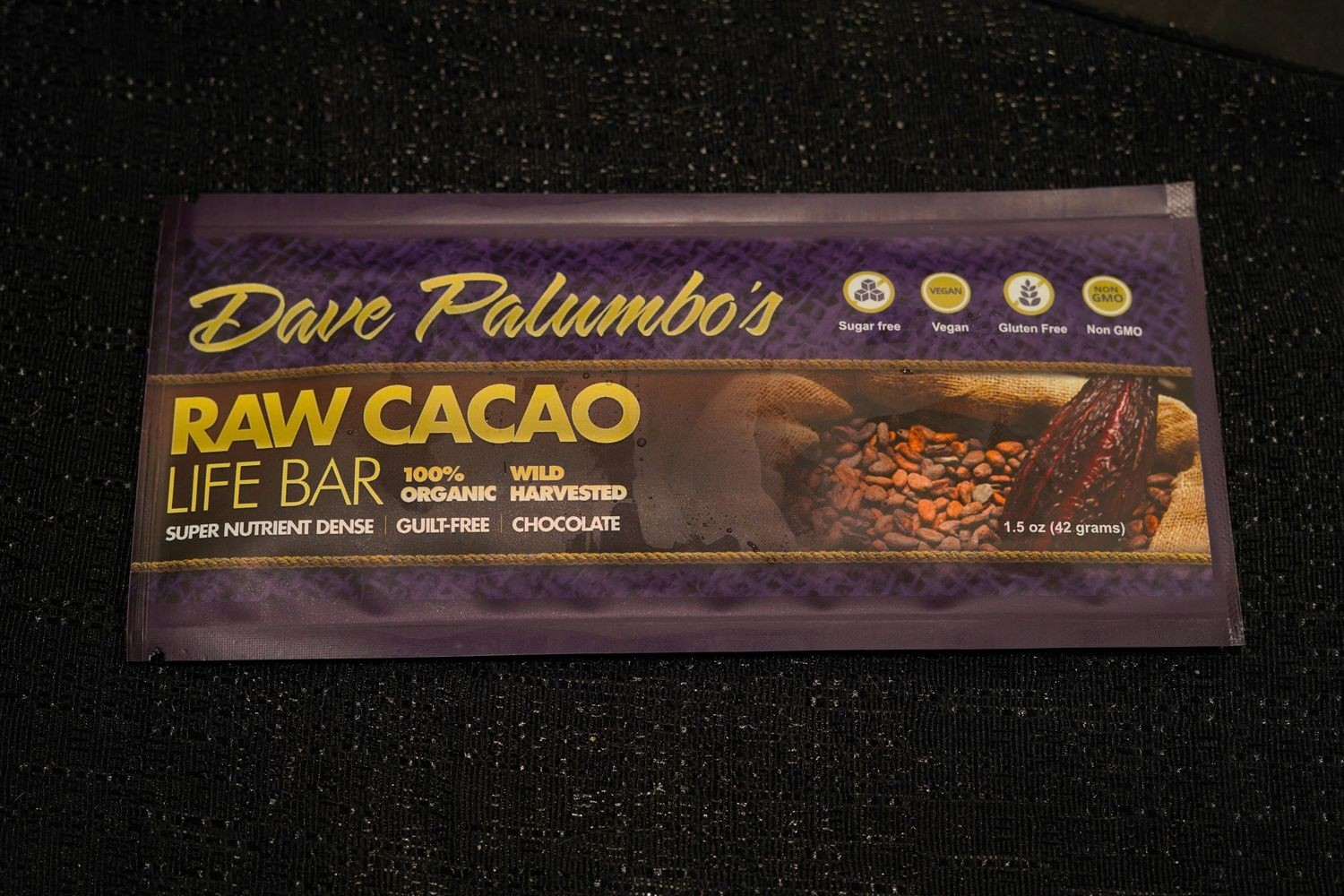 Dave Palumbo's Raw Cacao Bars