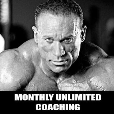 Monthly UNLIMITED Coaching