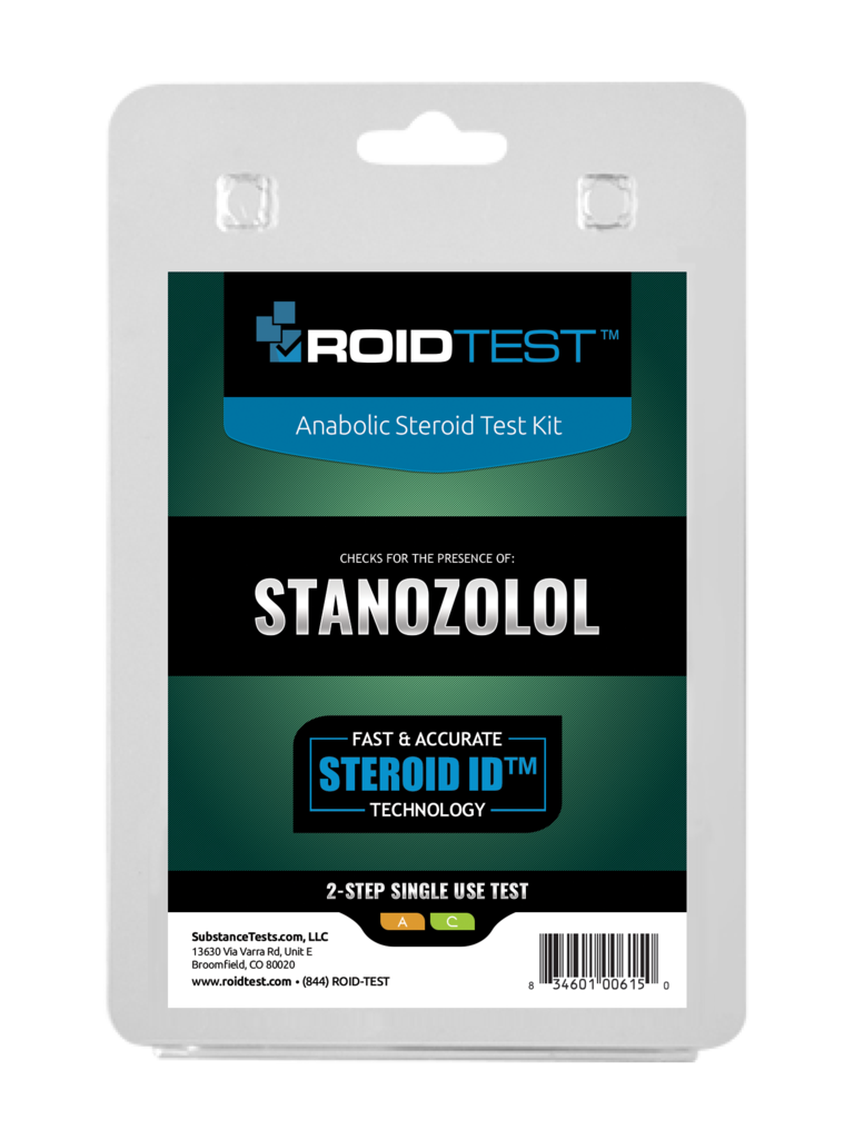 ROIDTEST Stanozolol - (2 Tests)