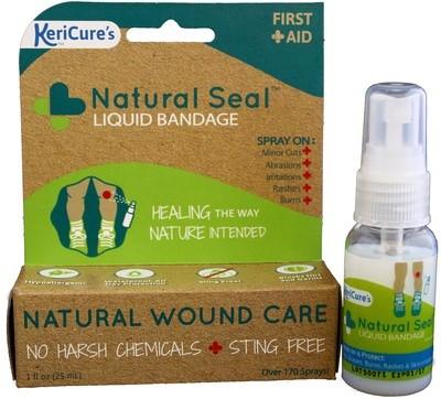 Natural Seal Spray on Bandage