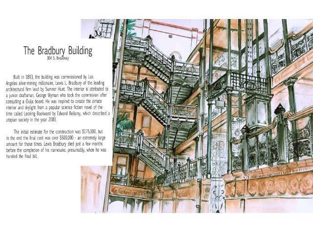 New Book - Illustrated tour of Broadway in downtown Los Angeles