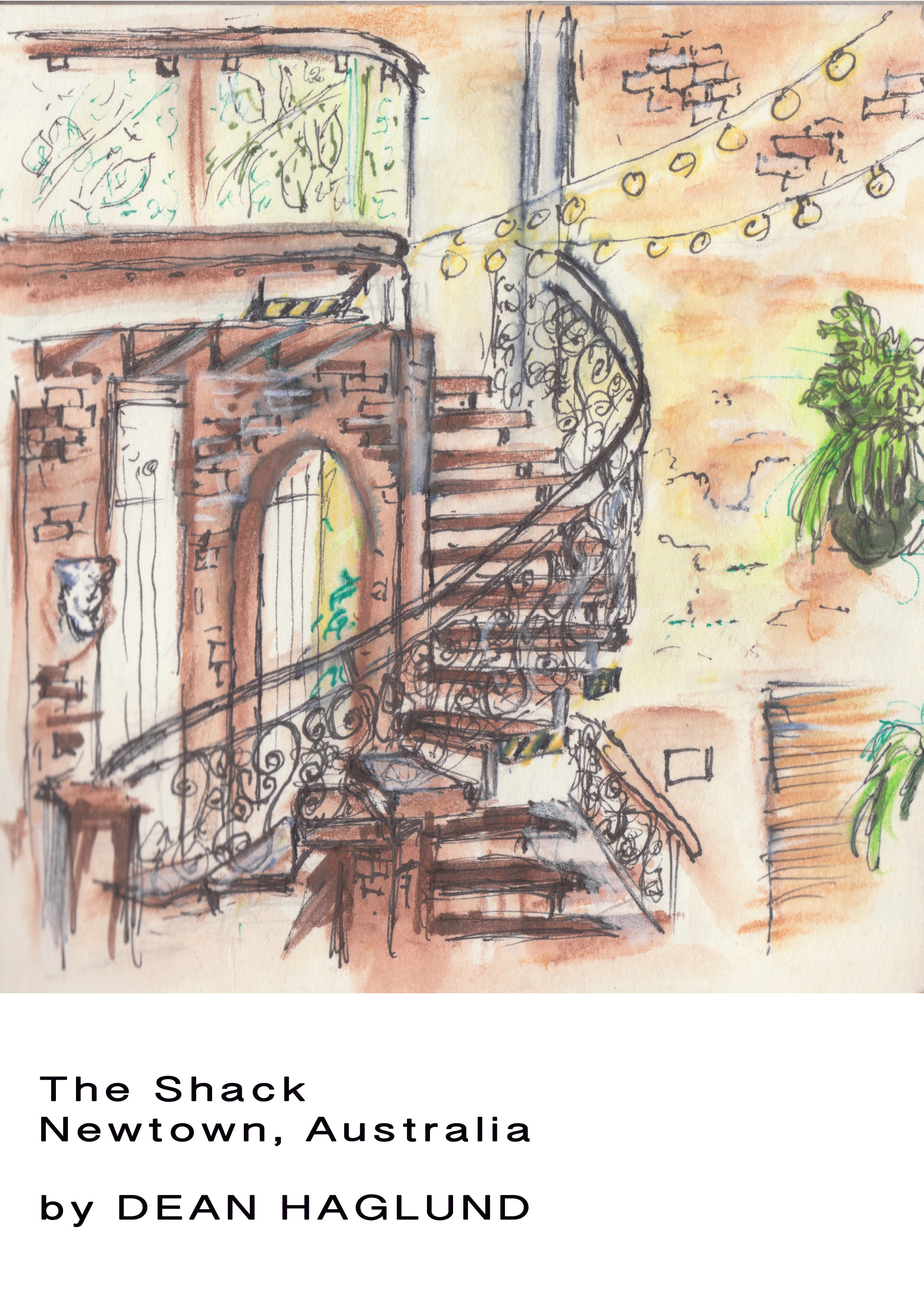 "Glicee Print of ""The Shack"" 00020"
