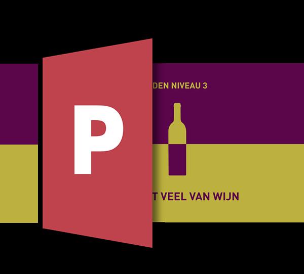 Powerpoint Presentatie: Ik weet veel van wijn - SDEN-Niveau 3 00019