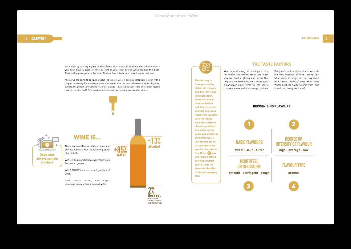 E-book: I know more about wine