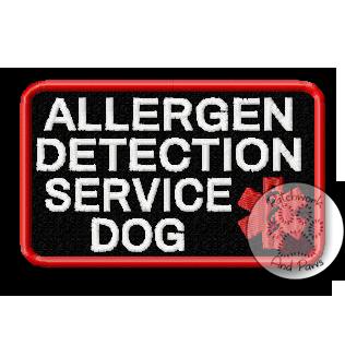 Allergen Detection Service Dog