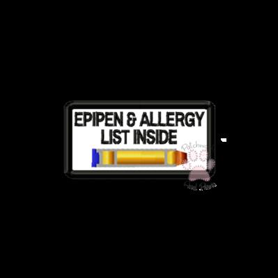 Epipen & Allergy List Inside