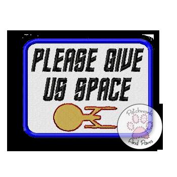 Please Give Us Space - Star Trek