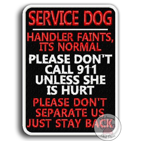 Service Dog: Handler Faints