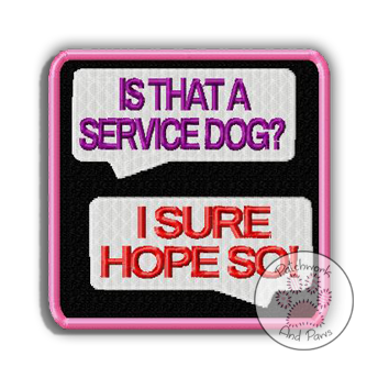 Is That A Service Dog? chat