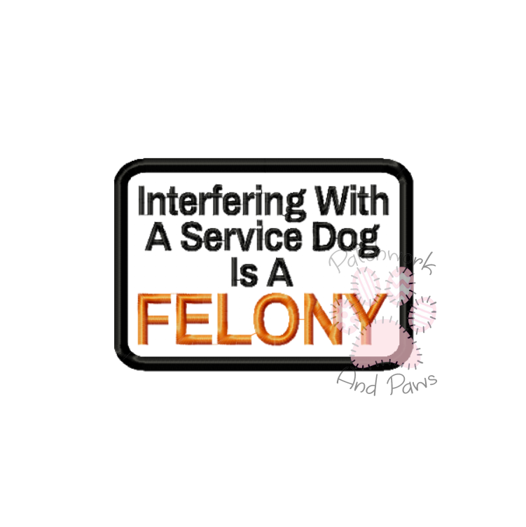 Interfering With A Service Dog